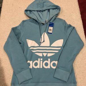 Womens Adidas Originals Trefoil Hoodie